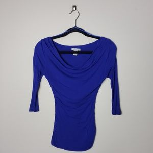 H&M Colbalt Blue Blouse